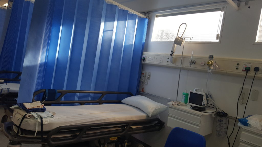 NHS Lothian mobile endoscopy suite