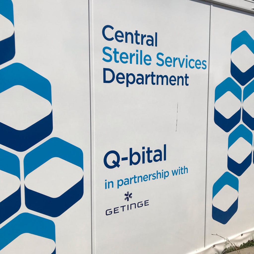 Innovative mobile Central Sterile Services Department (CSSD) unit